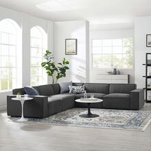 Restore 5-Piece Sectional Sofa in Charcoal