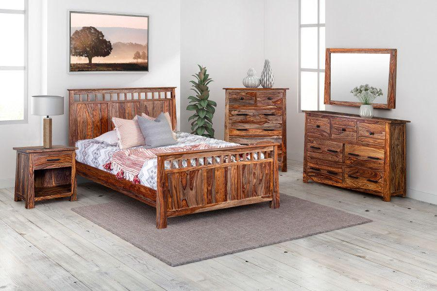 Porter International DesignsKalispell Harvest Bedroom Set, Pdu-102a-Hru