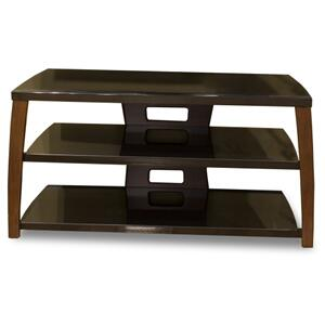 "42"" Wide Stand, Solid Wood Walnut Finish Accents, Easy Assembly, Accommodates Most 47"" and Smaller Flat Panels"