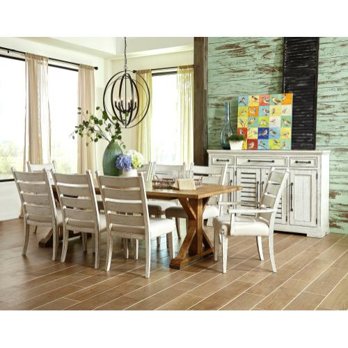 Trisha Yearwood Gathering Side Chair in Chalk Finish