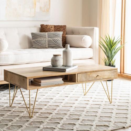 Safavieh - Marigold Coffee Table - Natural