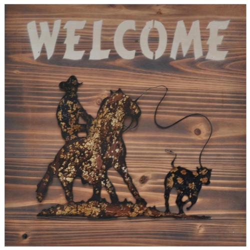 """Crestview Collections - """"Childers Wall Plaque"""""""