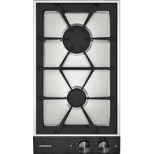"200 series Vario 200 series gas cooktop Black control panel Width 12"" Natural gas."
