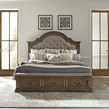 King Opt Storage Bed