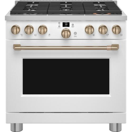 """Product Image - Café™ 36"""" Smart All-Gas Commercial-Style Range with 6 Burners (Natural Gas)"""