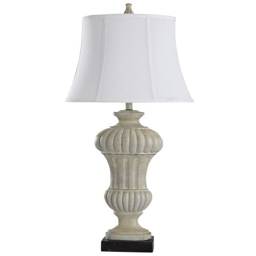 Product Image - Sauga Cream  35in Traditional Cast Table Lamp  100 Watts  3-Way