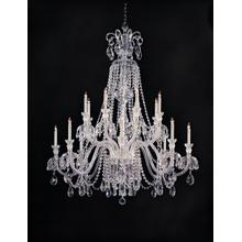 Traditional Crystal 16 Light C lear Crystal Chandelier