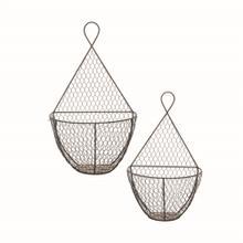 Bazaar Wall Baskets, Set of 2