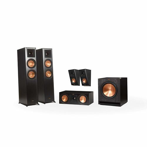 Klipsch - RP-6000F 5.1 Home Theater System - Walnut