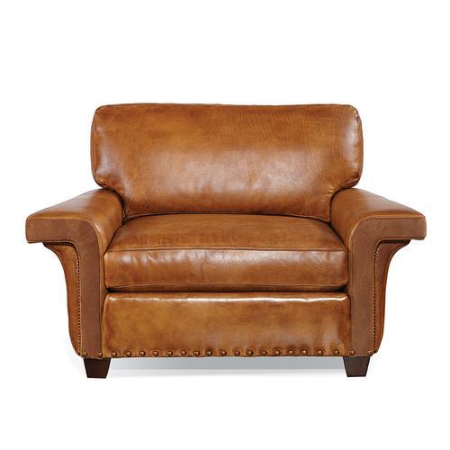 465-01 Lounge Chair Artisan Leather