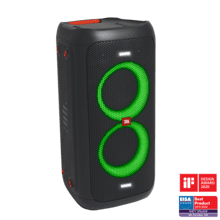 View Product - JBL PartyBox 100 Powerful portable Bluetooth party speaker with dynamic light show