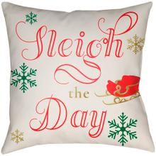 "Sleigh The Day SGD-001 18""H x 18""W"
