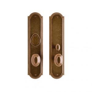 """Ellis Entry Set - 3"""" x 13"""" Silicon Bronze Brushed Product Image"""