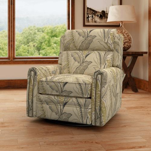 Camelot Swivel Reclining Chair CP737-10M/SHLRC