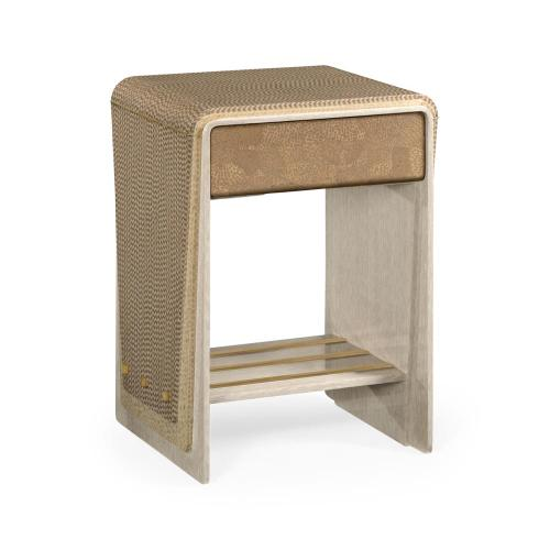 Brown Italian Layer End Table