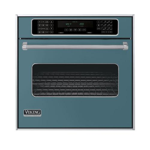 """Iridescent Blue 30"""" Single Electric Touch Control Premiere Oven - VESO (30"""" Wide Single Electric Touch Control Premiere Oven)"""