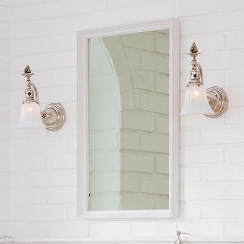 Dxv - Oak Hill Mirror - White Oak