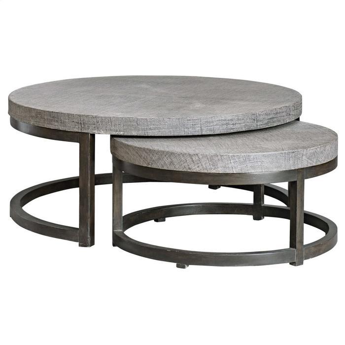 Uttermost - Aiyara Nesting Coffee Tables, S/2