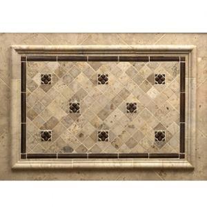 """Dots 2"""" - Backsplash Silicon Bronze Brushed Product Image"""