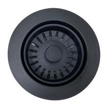View Product - Matte Black Basket Strainer Kitchen Drain -For Granite Composite Sinks