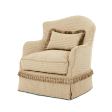 Upholstered Swivel Chair - Opt1