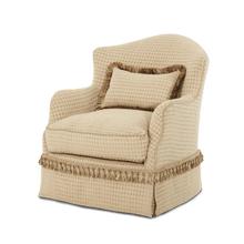 Upholstered Swivel Chair - Opt1