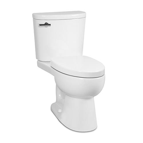Icera - White PALERMO II Two-Piece Toilet, 1.0 gpf