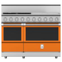 """See Details - 48"""" 4-Burner All Gas Range with 24"""" Griddle - KRG Series - Citra"""