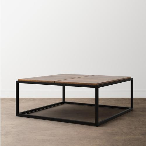 Bench*Made Midtown Large Square Cocktail Table