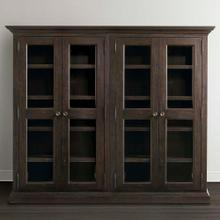 Product Image - Compass Western Brown Emporium Double Display Cabinet