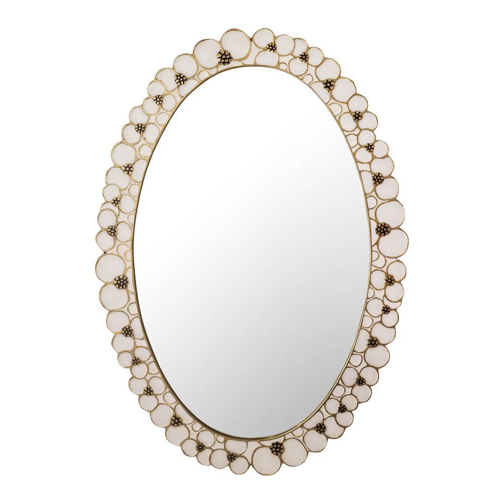 Flor Handpainted Mirror