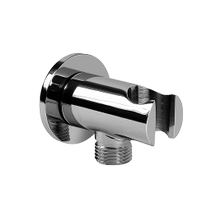 Handshower Wall Bracket with Integrated Wall Supply Elbow