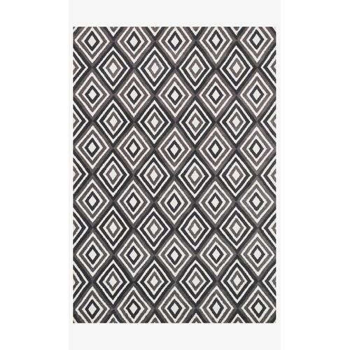 Hcd07 Grey / Charcoal Rug