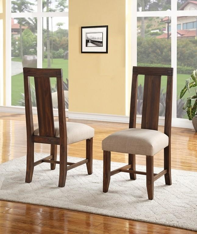 Meadow Chair with Brick Brown Finish
