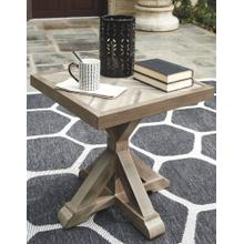 View Product - Beachcroft Square End Table Beige