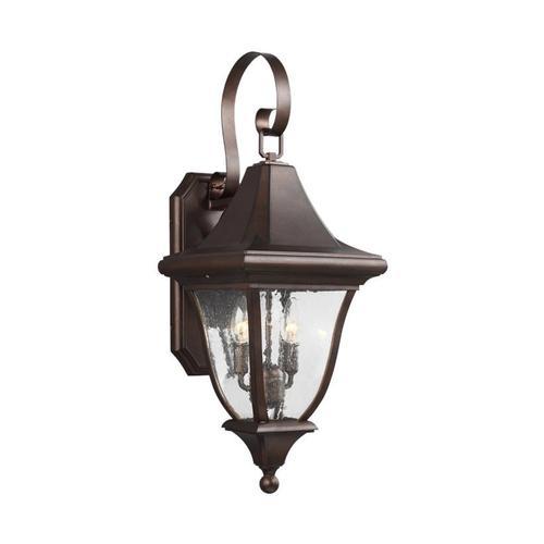 Oakmont Medium Lantern Patina Bronze