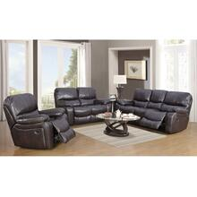 Ramsey Brown Leather-Look Reclining Set, M6013N