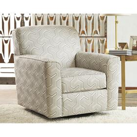 Daylon Swivel Accent Chair Graphite