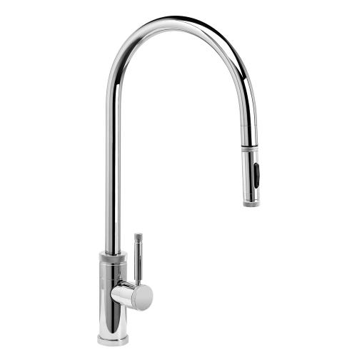 Industrial Extended Reach PLP Pulldown Faucet - 9300 - Waterstone Luxury Kitchen Faucets