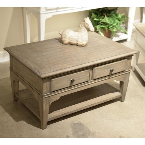 Myra - Small Leg Coffee Table - Natural Finish