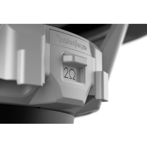 """Rockford Fosgate - M2 10"""" DVC 4 Color Optix™ Sealed Enclosure Marine Subwoofer"""