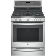 "GE Profile™ Series 30"" Dual-Fuel Free-Standing Convection Range with Warming Drawer- New-Just Out Of The Box"