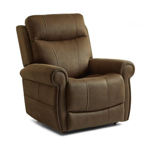 Stewart Power Lift Recliner with Power Headrest and Power Lumbar