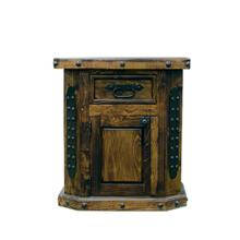 Left Fine Laquer Nightstand DISCONTINUED