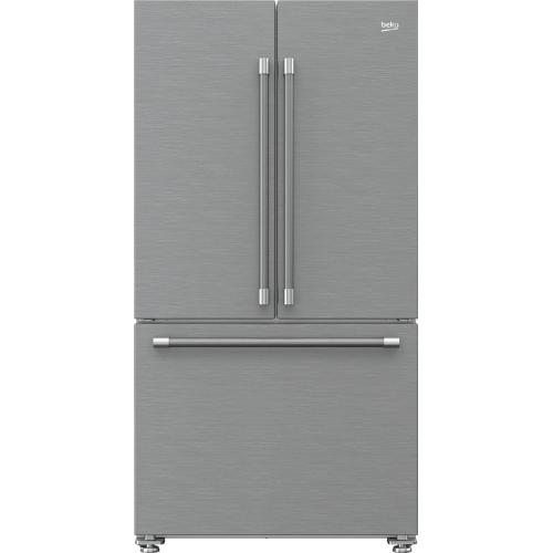 "36"" French Three-door Refrigerator"