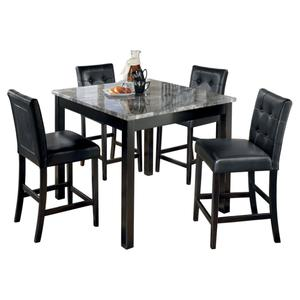 Ashley FurnitureSIGNATURE DESIGN BY ASHLEYMaysville Counter Height Dining Room Table and Bar Stools (set of 5)