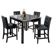 Maysville Counter Height Dining Room Table and Bar Stools (set of 5)
