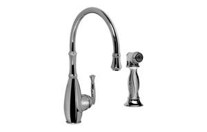 Duxbury Kitchen Faucet w/ Side Spray Product Image