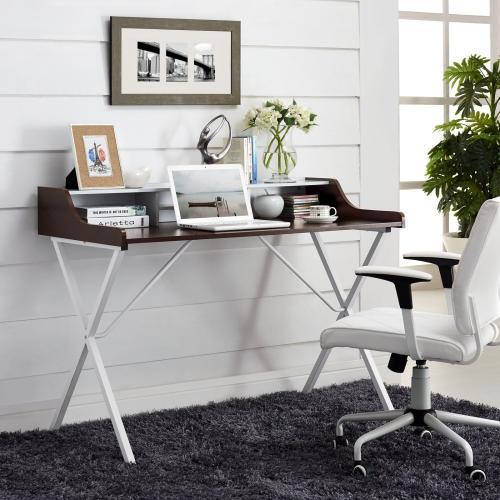 Gallery - Bin Office Desk in Cherry