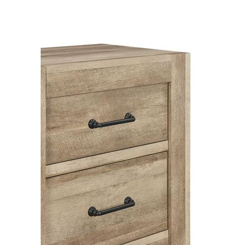 Standard Furniture - Salerno Light Nightstand with USB Charging Station